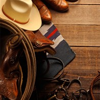 Cowboy Perforated Bookmarks