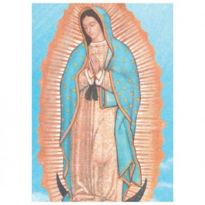 Lady Of Guadalupe Perforated Bookmarks
