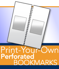 Print Your Preforated Bookmarks