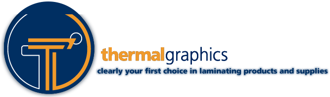 Thermalgraphics - Laminating supplies and services.
